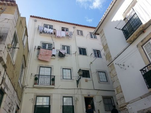lisbon portugal backyard