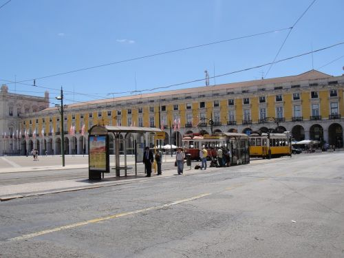 lisbon portugal plaza