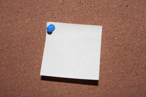 list pin post it