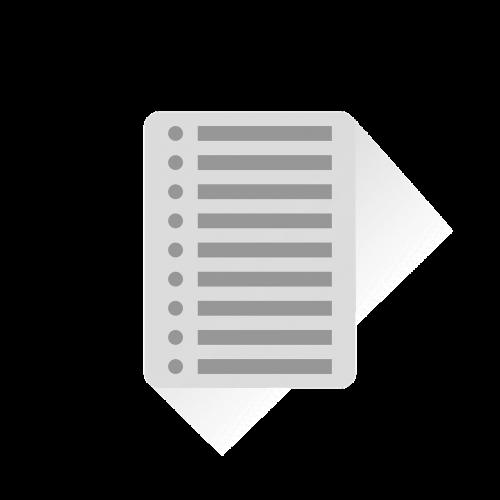 list checklist paper