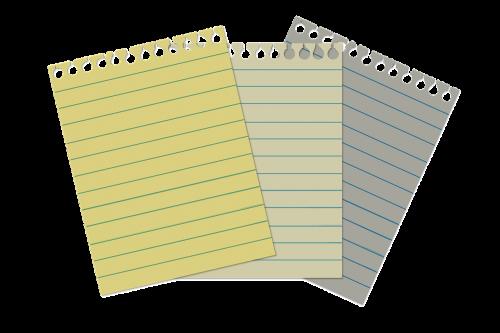 list demolition spiral notebook