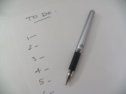 list to do list reminder