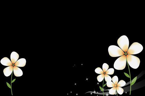literature and art little flower fresh