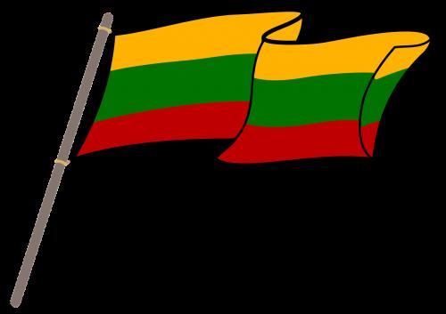 lithuania flag graphics