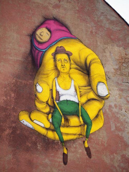 lithuania vilnius graffitti