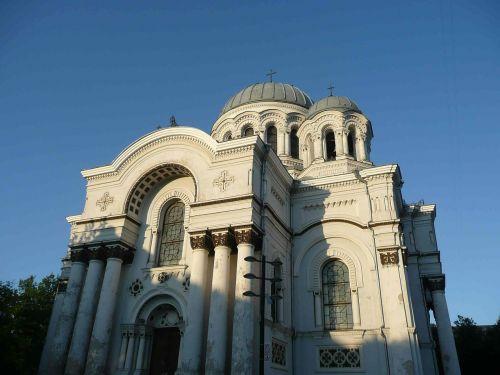 lithuania kaunas garrison church