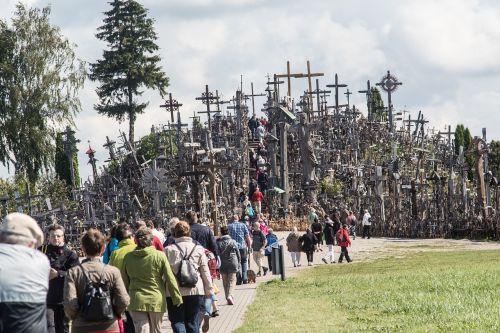 lithuania siauliai mountain of crosses