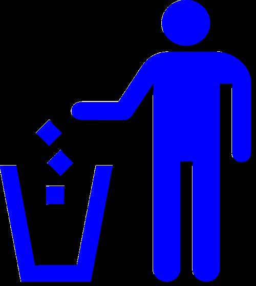 litter trash recycling