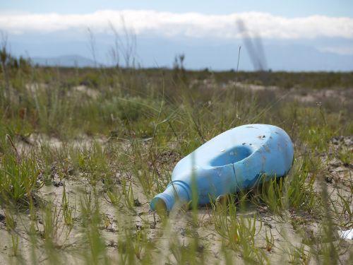 litter bottle rubbish