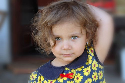 little romanian girl