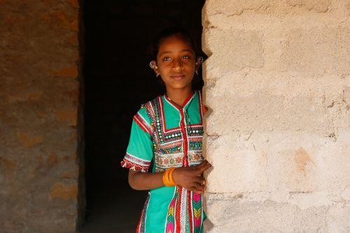 little girl gujarat bhuj