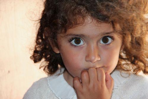 little girl beauty innocence