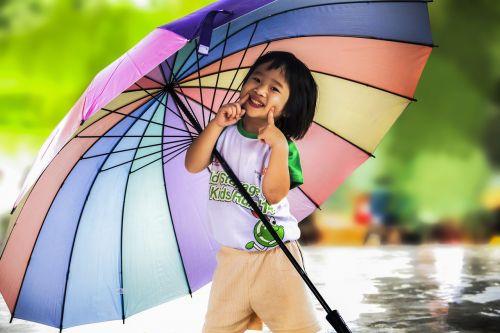maža mergaitė,skėtis,maža mergaitė su skėčiu,vaikas,mergaitė,mažai,laimingas,vaikystę,oras,mielas,vaikas,žmonės,juokinga,džiaugsmas,lauke,lietus