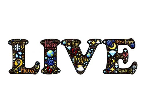 live be being