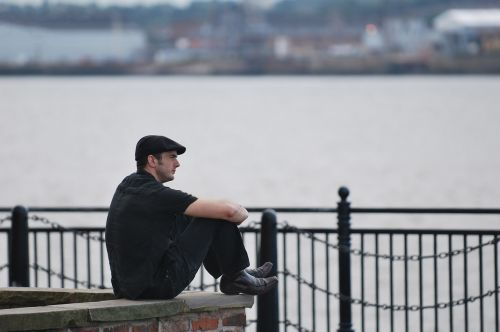 liverpool mersey thoughtful