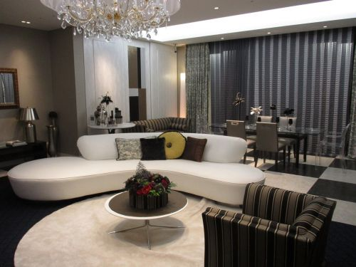 living room chandelier sofa