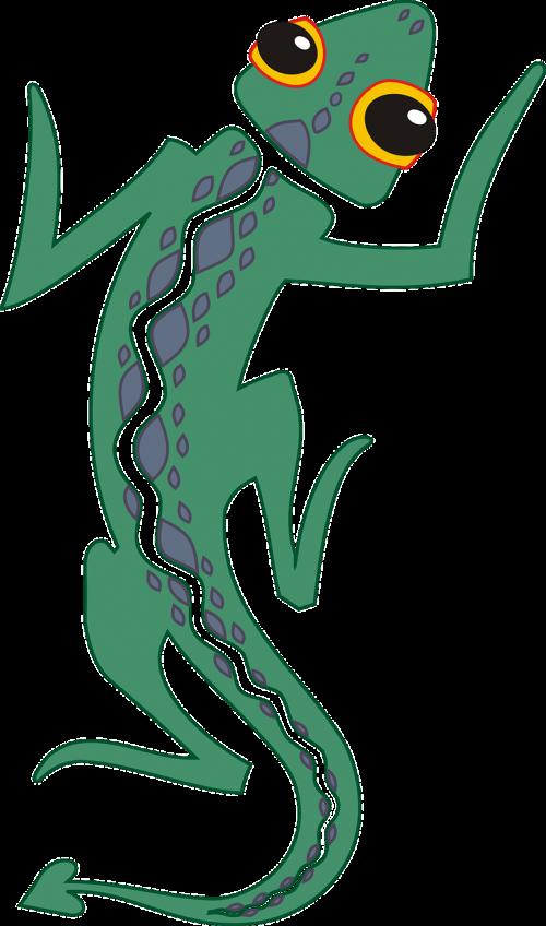 lizard tail reptile