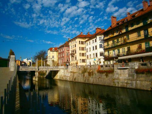 ljubljana slovenia ljubljanica river