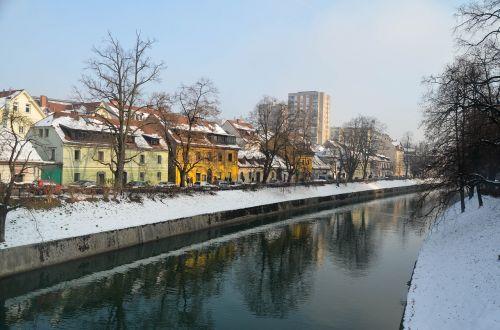 ljubljana slovenia snow