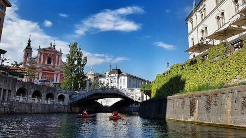 ljubljana river slovenia
