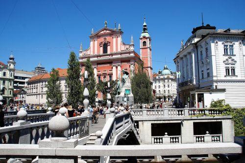 ljubljana old town capital