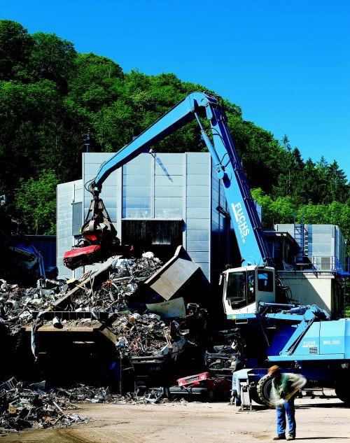 scrap metal loacker recycling
