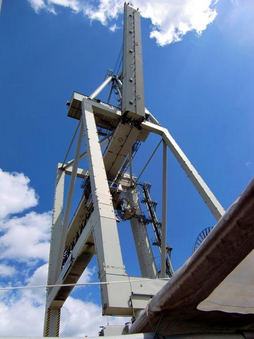 load crane harbour crane industrial crane