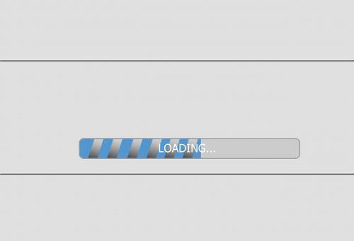 loading computer saving