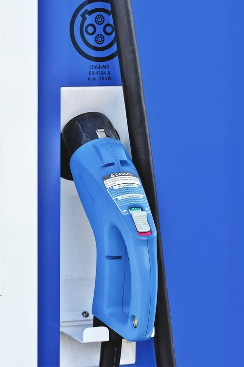 loading column  charging station  electric mobility