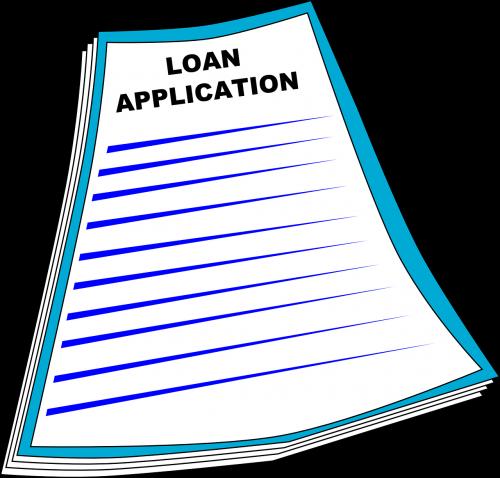 loan application application form
