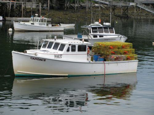 lobster boat maine usa boat