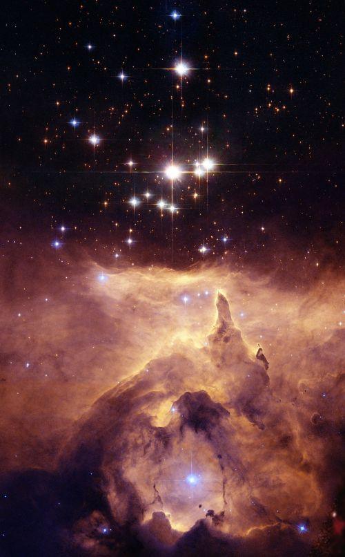 lobster nebula ngc 6357 diffuse nebula