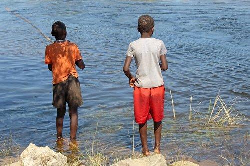 local juvenile fishing  water  river