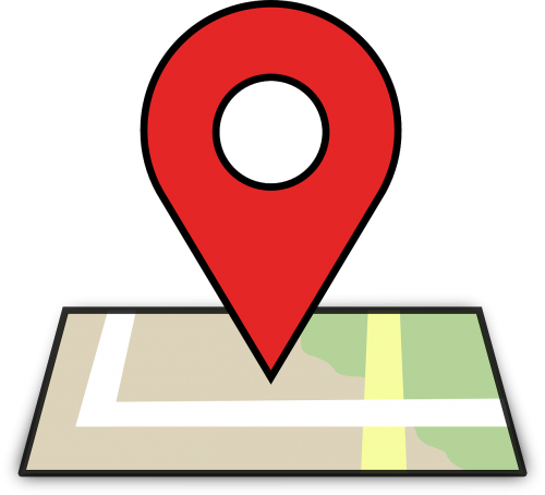 location map pin
