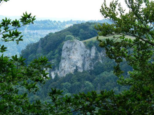 lochenstein mountain rock