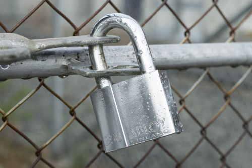 lock locked padlock