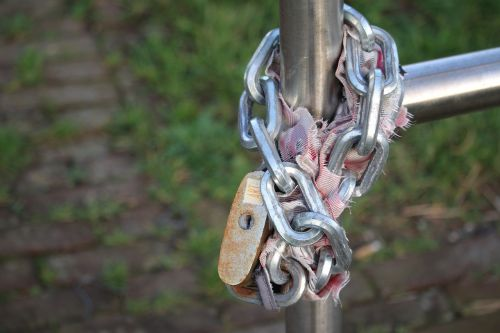 lock bike lock bicycle
