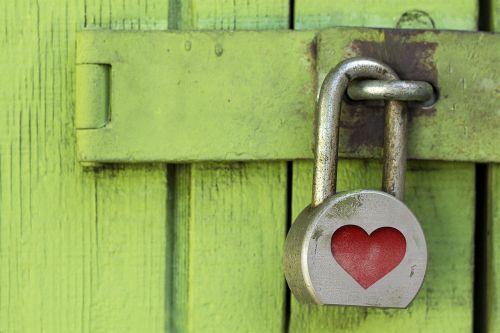 lock padlock heart