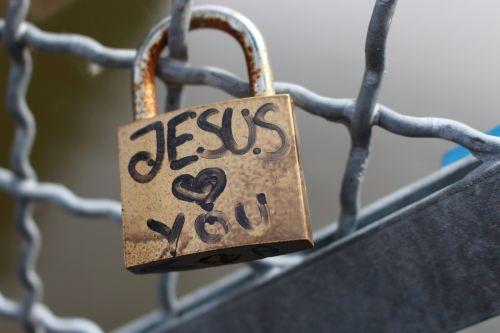 lock jesus love