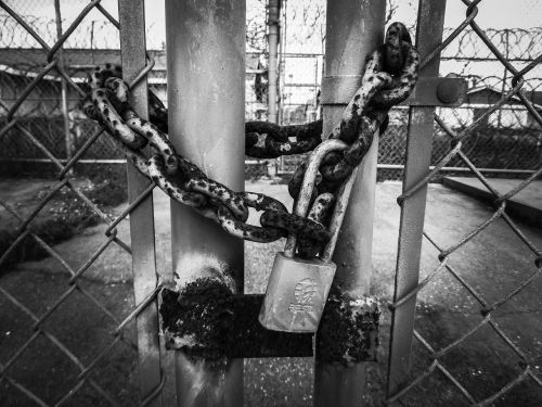 lock security padlock