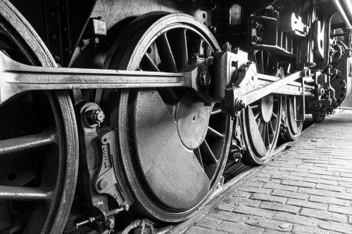 lock railway wheel