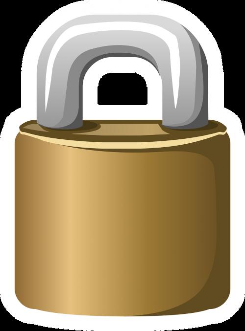 lock padlock secure