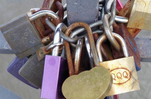locks engagement marriage