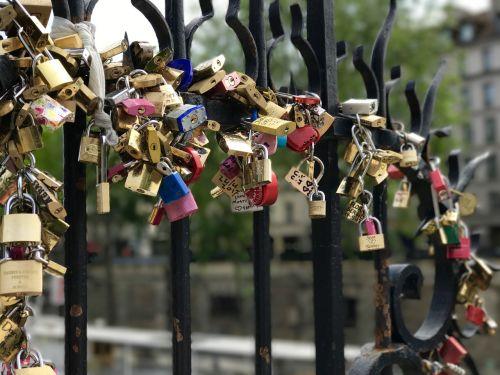 locks bridge love locks