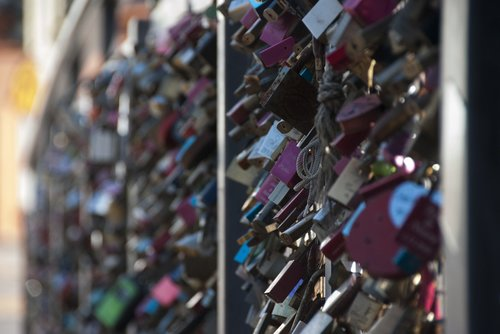 locks  bridge  love