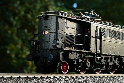 loco  electric locomotive  model railway