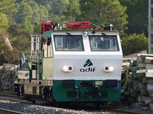 locomotive railway maintenance