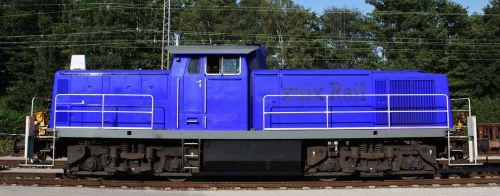 locomotive traction-unit shunter