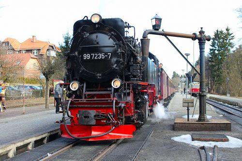locomotive railway steam locomotive