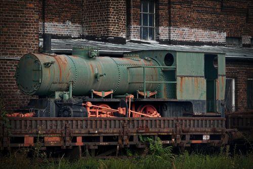locomotive transport vintage